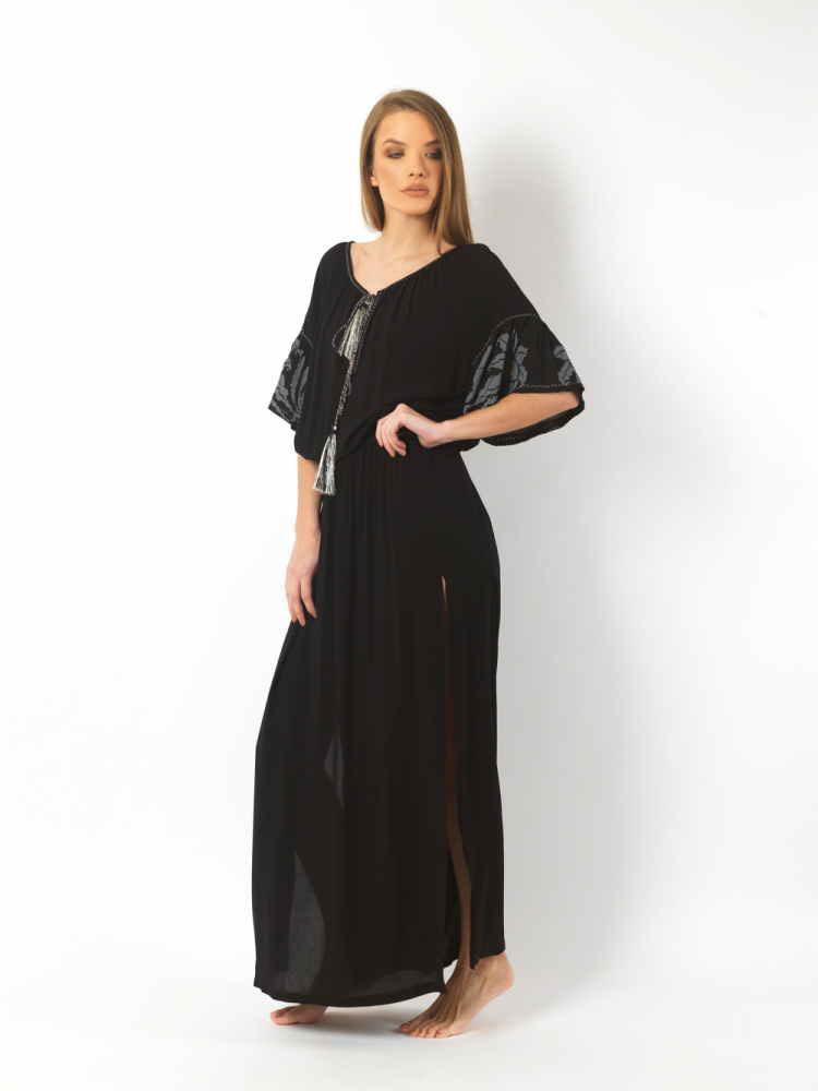46ebf1b20398 Io Maxi Summer Dress - ΧΕΙΡΟΠΟΙΗΤΑ ΡΟΥΧΑ ΚΑΙ ΑΞΕΣΟΥΑΡ
